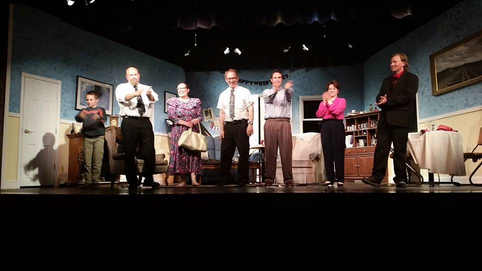 """Cast from """"The Nerd"""" directed by Jason Quinn of Mt. Pleasant, UT"""
