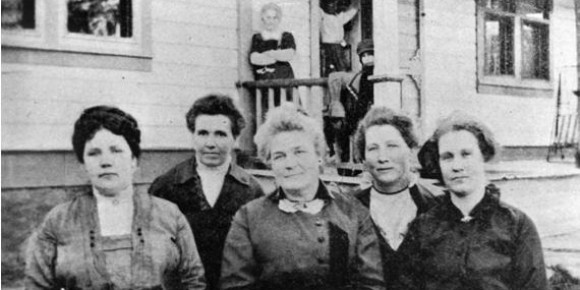 Kanab 1911 All Female City Council