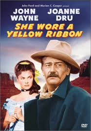 "John Wayne ""She Wore A Yellow Ribbon"""