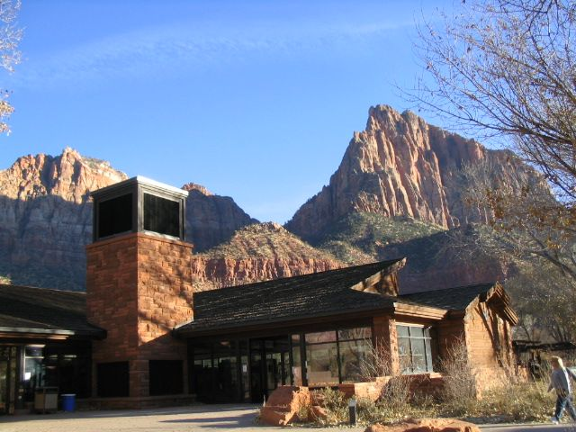 Zion National Park Visitors Center Photo Courtesy of National Park Service