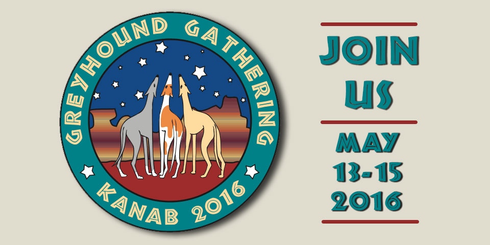 Greyhound Gathering Kanab 2016