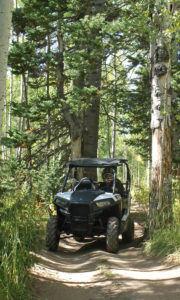 Photo Credit: Sanpete County Travel Polaris RZR 900 on the Arapeen OHV Trail #12 east of Fairview Utah.
