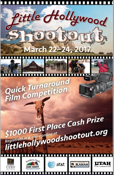 Little Hollywood Shootout 2017. Mormon Pioner National Heritage Area MPNHA. Kanab, Utah.