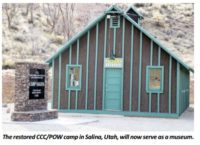 Salina, Utah - CCC/POW Camp now a Museum