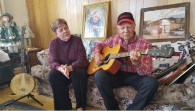 Billy Thomas and his wife Carolyn sing a song in tribute to Billy's mother, the late Lillie Thomas. Thomas Grocery was a big roadside favorite for many years along Highway 89 in Sterling, Utah. Billy Thomas was interviewed in his Richfield, Utah home for the Discovery Road episode, A Good Road Story, which has just been released publicly.