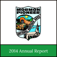 2014 Annual Report of the Mormon Pioneer National Heritage Area