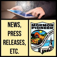 Latest News and Press Releases from the Mormon Pioneer National Heritage Area