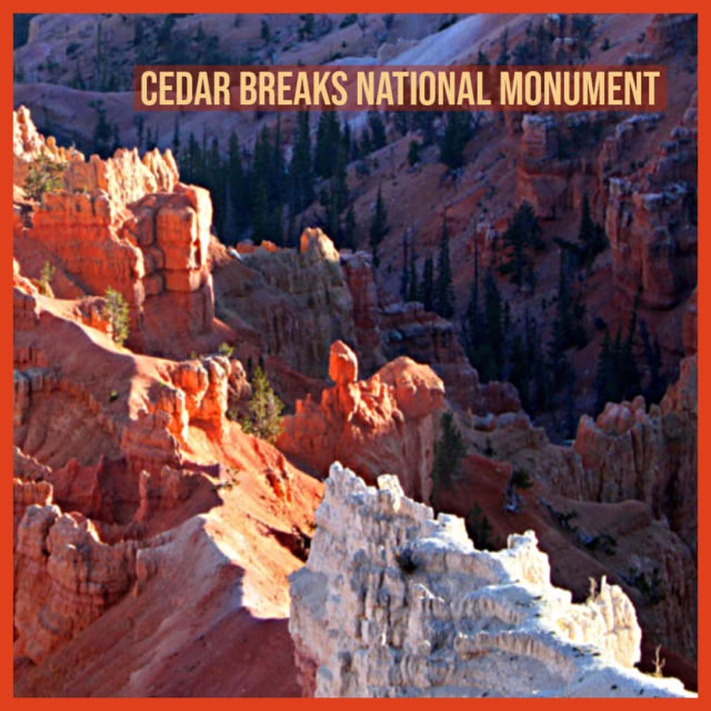 Cedar Breaks National Monument in the Mormon Pioneer National Heritage Area
