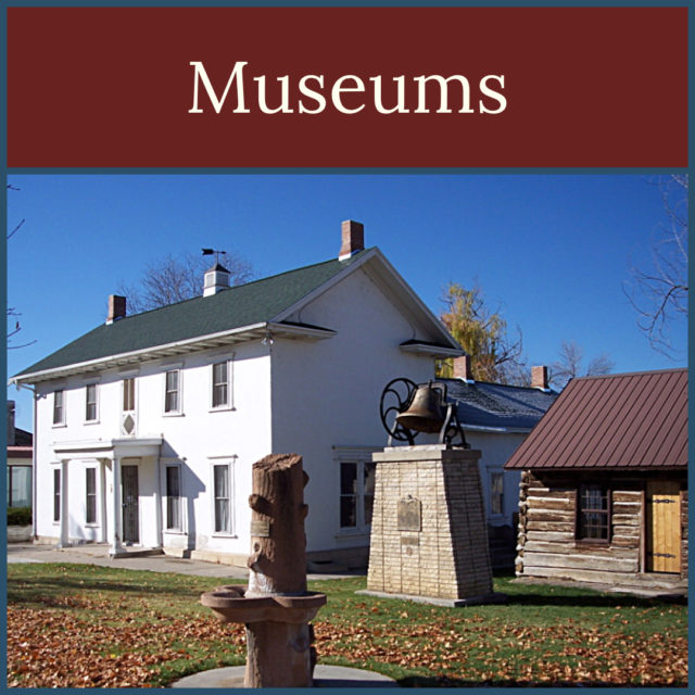 Museums in the Mormon Pioneer National Heritage Area