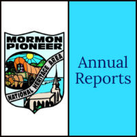 Annual Reports for the Mormon Pioneer National Heritage Area