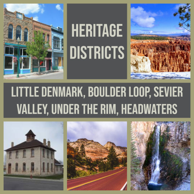 Heritage Districts of the Mormon Pioneer National Heritage Area in Utah