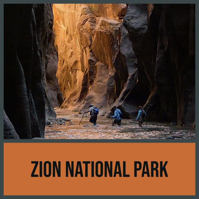 Zion National Park in the Mormon Pioneer National Heritage Area