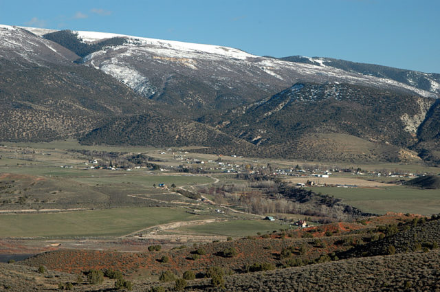 View of Sterling Utah