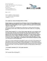 2019 Skyline HR 1049 Support