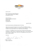 2019 Wayne County Support Letter