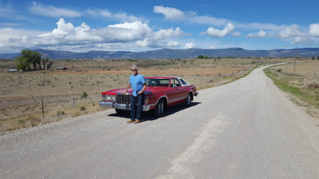 James Nelson of the MPNHA Discovery Road Television Show and his car