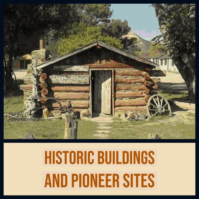 Cabin and museum historic mormon pioneer buildings utah